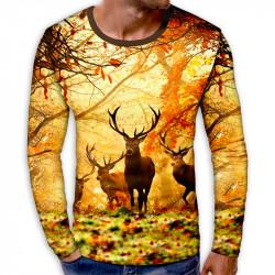 3D мъжка блуза AUTUMN DEER