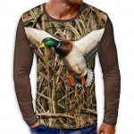 3D мъжка блуза DUCK CAMOUFLAGE
