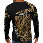 3D мъжка блуза FISHIHG PASSION