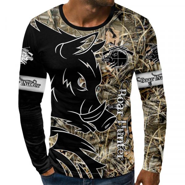 3D мъжка блуза BOAR HUNTFR