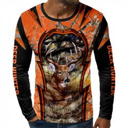 3D мъжка блуза REINDEER