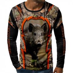 3D мъжка блуза BOAR