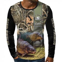 3D мъжка блуза CARP FISHING