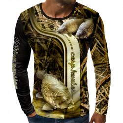 3D мъжка блуза CARP HUNTFR