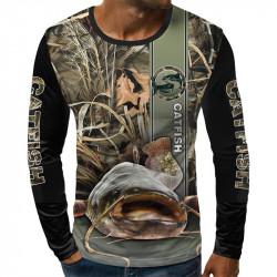 3D мъжка блуза CATFISH