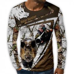 3D мъжка блуза принт cacciatore