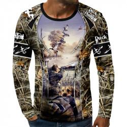 3D мъжка блуза принт ЛОВЕН СЕЗОН