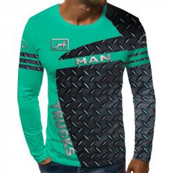 3D мъжка блуза MAN