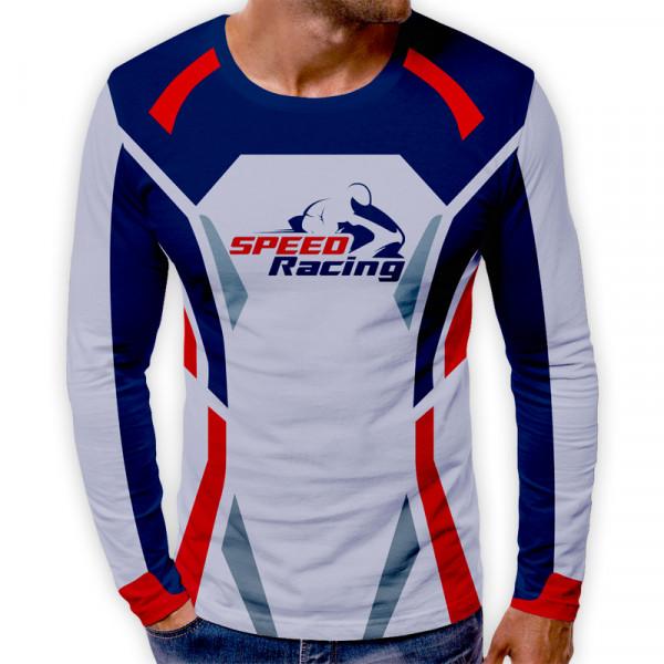 3D мъжка блуза принт SPEED RACING