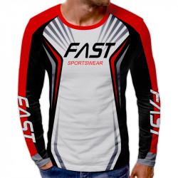 3D мъжка блуза принт FAST
