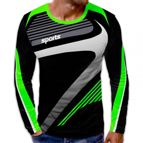 3D мъжка блуза принт SPORTS