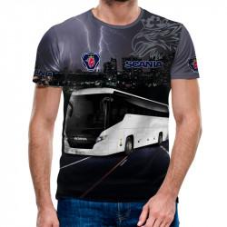 3D мъжка тениска Scania Bus