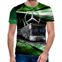 3D мъжка тениска Mercedes Bus