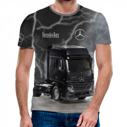 3D мъжка тениска Mercedes Benz