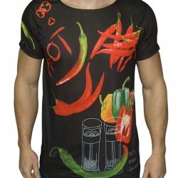 3D  мъжка тениска Hot