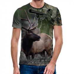 3D мъжка тениска Wilderness