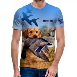 3D мъжка тениска HUNTER