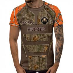 3D ловджийска тениска Boar Hunter
