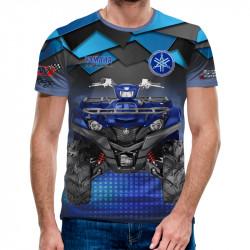 3D мъжка тениска Yamaha ATV