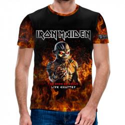 3D мъжка тениска Iron Maiden