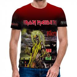 3D мъжка тениска Iron Maiden Killers