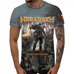 3D мъжка тениска Megadeth