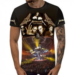3D мъжка тениска Metalica Death Magnetic