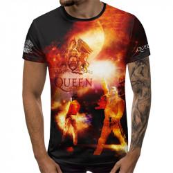 3D мъжка тениска Quen
