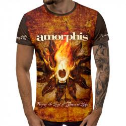 3D мъжка тениска AMORPHIS
