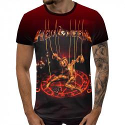 3D мъжка тениска Helloween