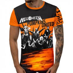3D мъжка тениска Helloween  united