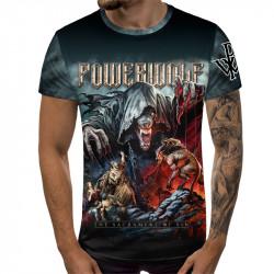 3D мъжка тениска Powerwolf