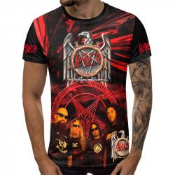 3D мъжка тениска Slayer rock and roll