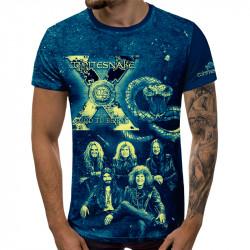3D мъжка тениска WHITESAKE X