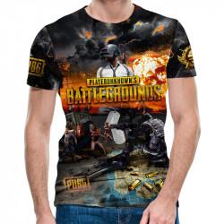 3D мъжка тениска Battlegrounds - revenge