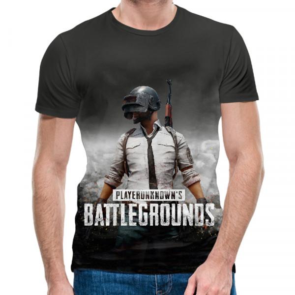 3D мъжка тениска Battlegrounds