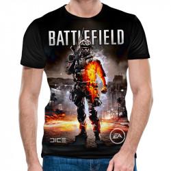 3D мъжка тениска Battlefield