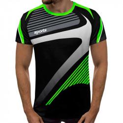3D мъжка тениска SPORTS