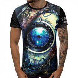 3D мъжка тениска Photographer