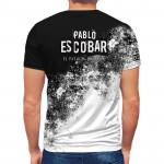3D мъжка тениска Pablo Escobar