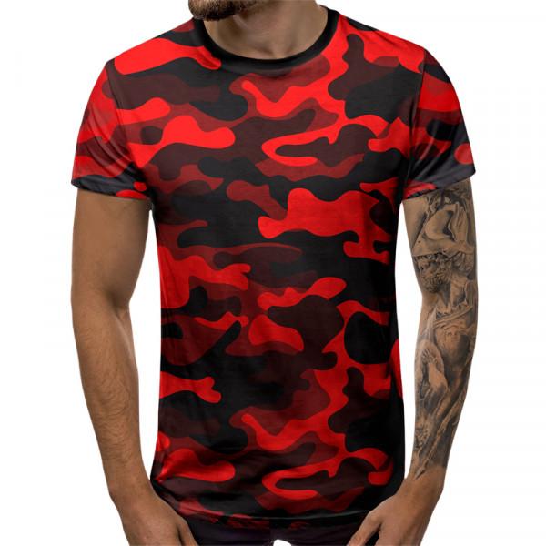 Камуфлажна мъжка тениска