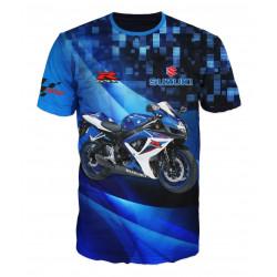 3D мъжка тениска Suzuki motors