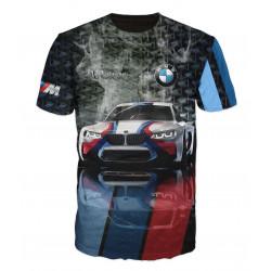 3D мъжка тениска Bmw M Mania