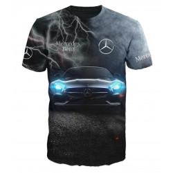 3D мъжка тениска Mercedes club