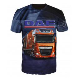 3D мъжка тениска DAF