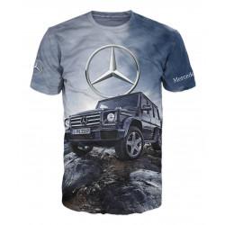3D мъжка тениска Mercedes G class