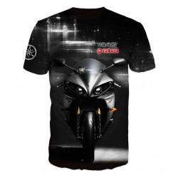 3D мъжка тениска Yamaha Moto sport