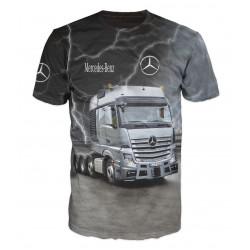 3D мъжка тениска Mercedes Actros