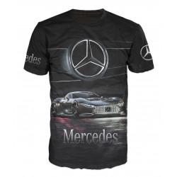 3D мъжка тениска Mercedes Gran Turismo