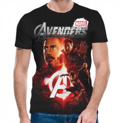 3D мъжка тениска Avengers